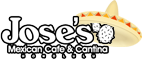 Jose's Mexican Cafe & Cantina Logo with sombrero